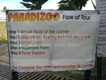 The farms flow of the tour. And to enjoy it best, I suggest that visitors come during Saturdays & Sundays at 3 PM to be able to see the animal parade which is being held only during this time.