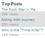Does this shows that the Time-Killer as popular as Journey? I wish.