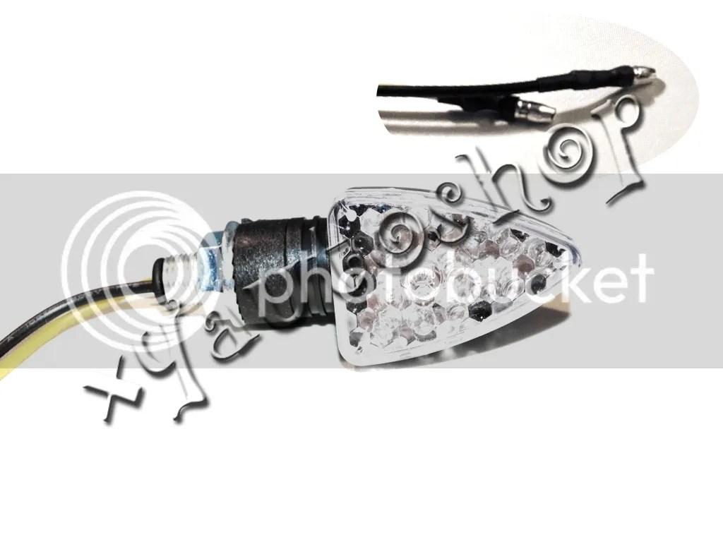 4x 15 Led Turn Signal Indicator For Suzuki Dr Drz Dr350