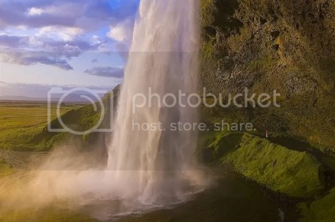 Seljellandfoss Waterfall in Iceland