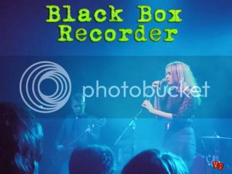 Black Box Recorders John Moore & Sarah Nixey