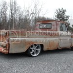 Purchase Used 1965 C10 Rat Rod Chevy Slammed Bagged Air Bags Patina Truck Similar To 3100 F1 In Batavia New York United States