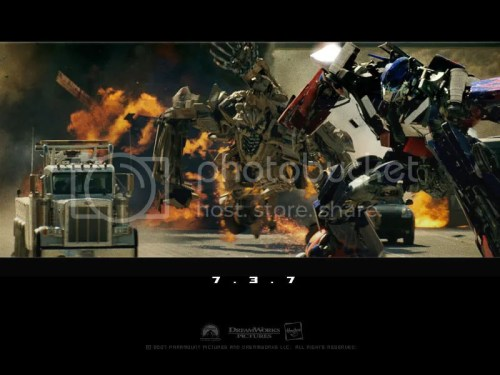 The Transformers Throw Down