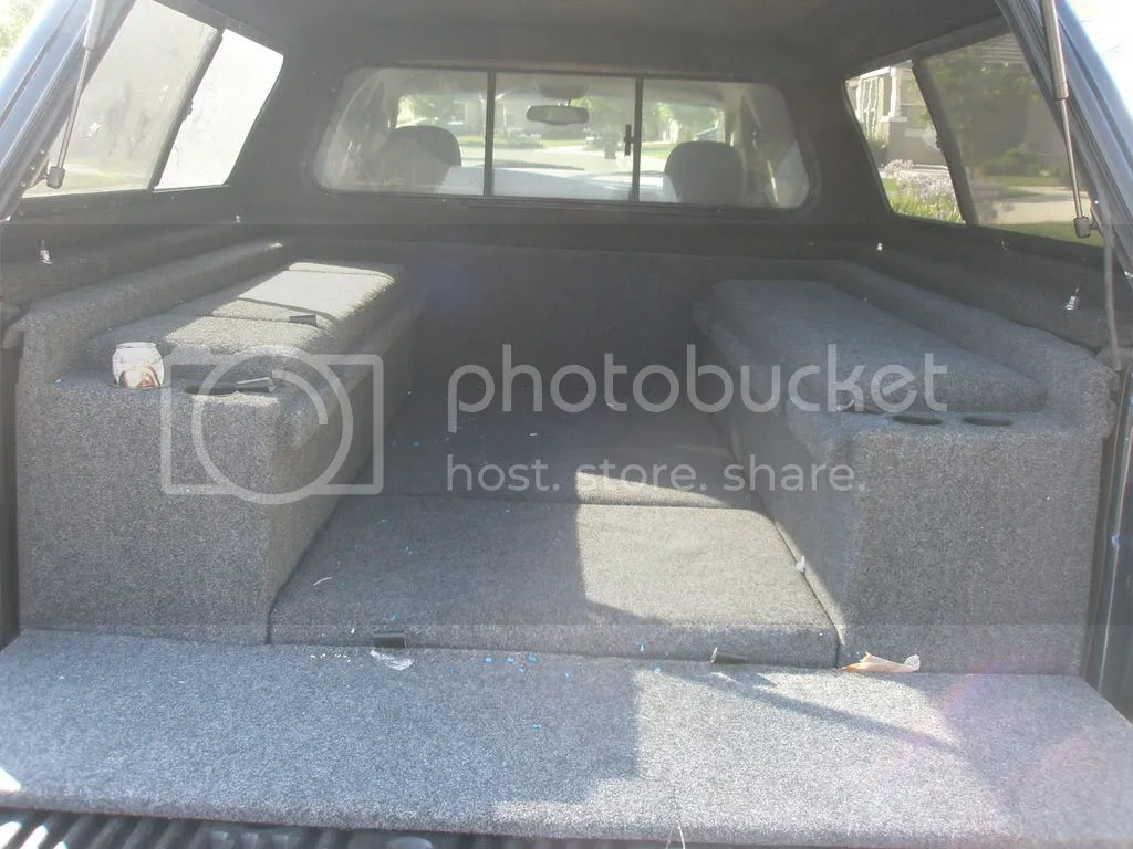 Dodge Camper Shell Side Steps Carpet Kit