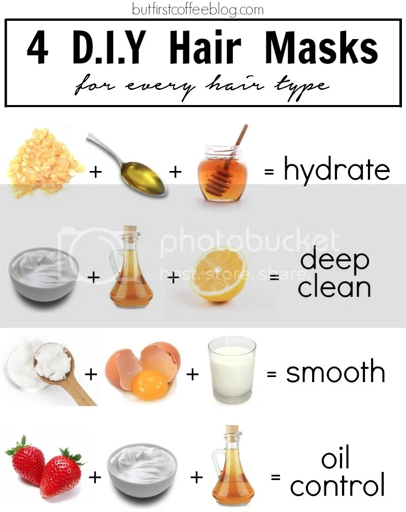 4 diy hair masks for every hair type but first coffee 4 diy hair masks for every hair type solutioingenieria Choice Image
