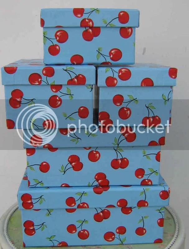 Cherry Boxes