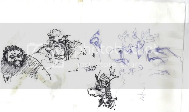 Blitzen sketches