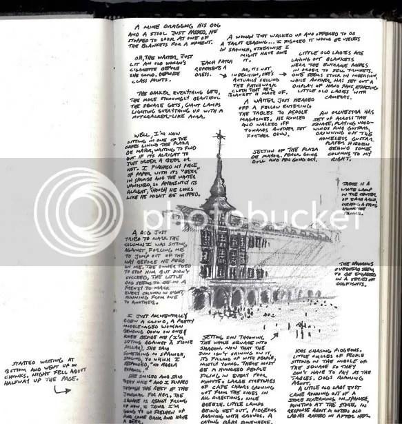 Madrid sketch
