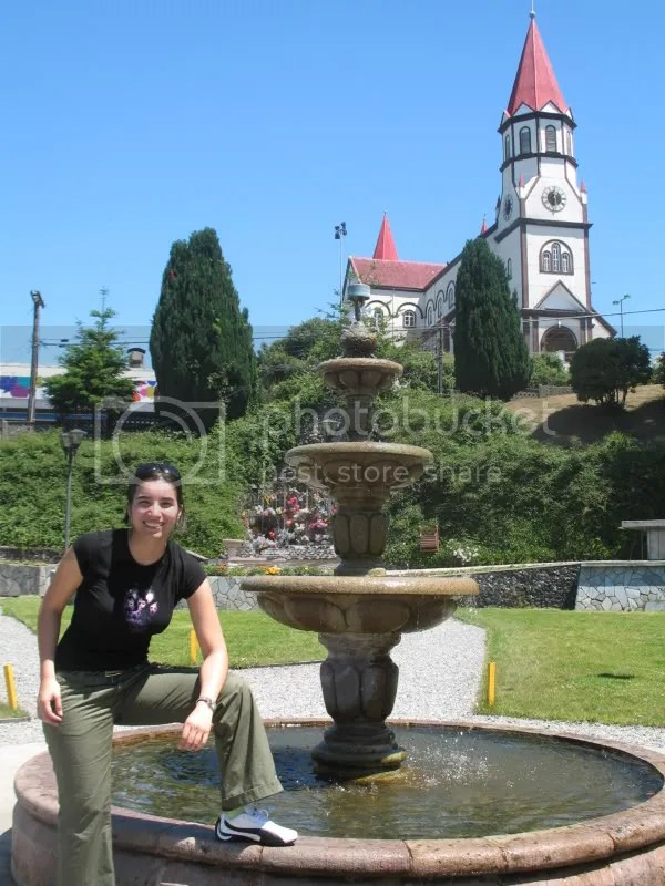Thats the church of Puerto Varas, the city where we stayed
