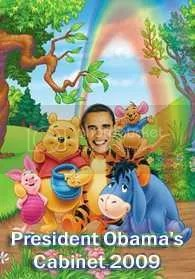 Obama and cabinet