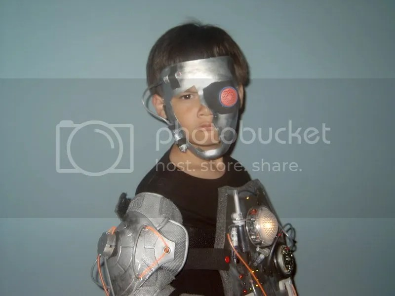 cyborg boy costume 2