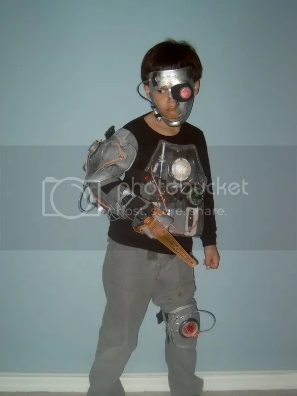 cyborg boy costume 3