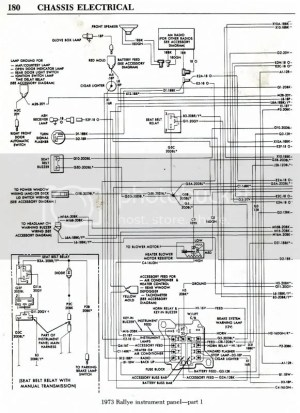 Need 1973 Duster wiring diagrams please! | Moparts