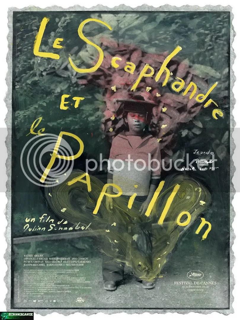 Poster do filme O Escafandro e a Borboleta