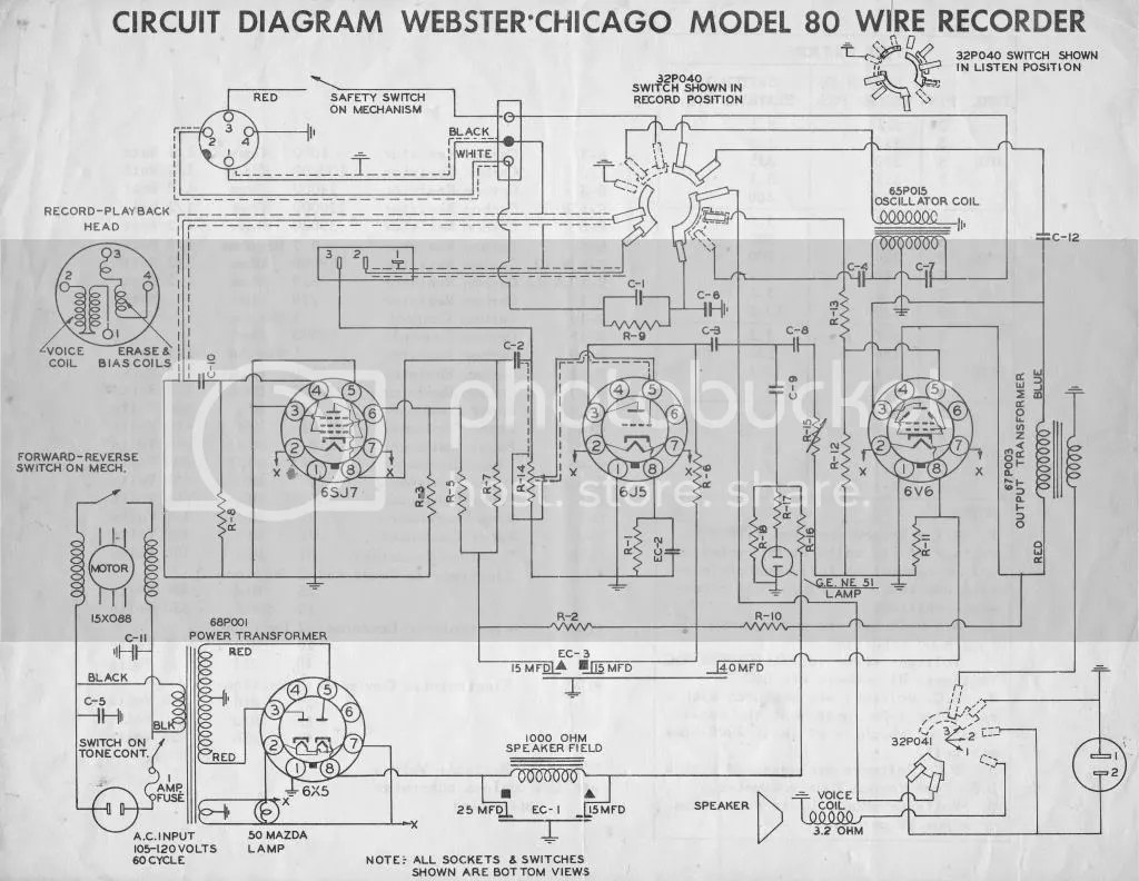 How To Start Work On A Webster 80 1 Wire Recorder