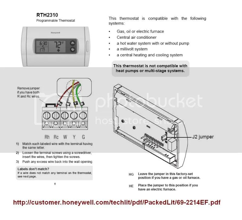 Diy Honeywell Programmable Thermostat | Poemsrom.co