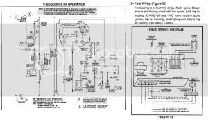 Lennox G1404 Furnance blower motor wiring foul up