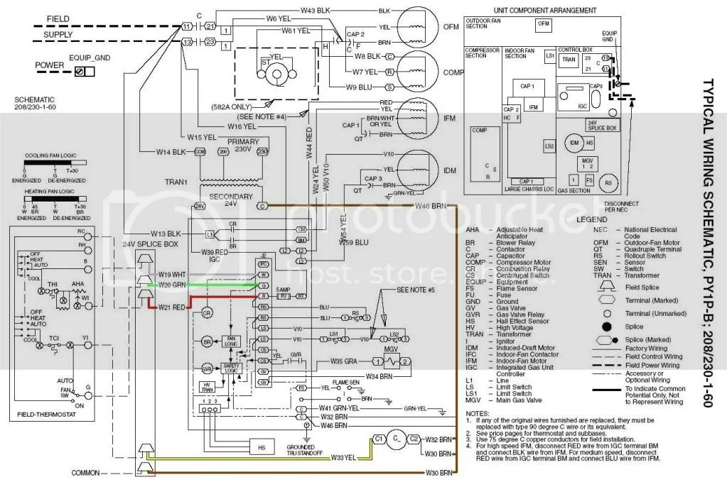 Package Ac Unit Wiring Diagram on carrier schematic symbols
