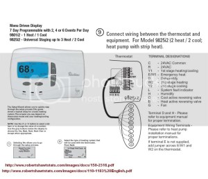 2 Stage Heat Pump Thermostat Wiring  Wiring Diagram Pictures