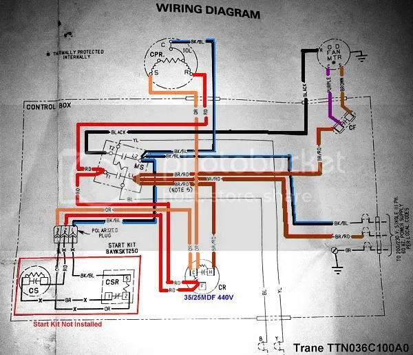 TraneTTN036C100A0?resize=600%2C515 trane sv92 furnace humidifire wiring diagram trane wiring Trane Wiring Diagrams Model at virtualis.co