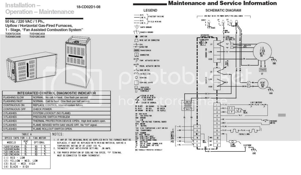 trane air handler wiring diagrams