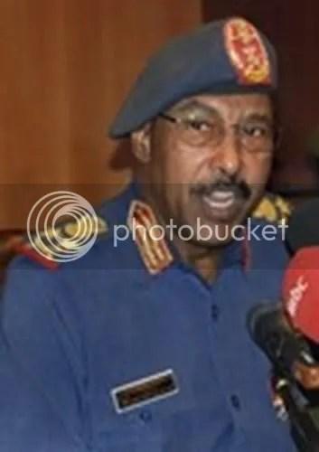 Sudan Defense minister Abdel-Rahim Mohamed Hussein