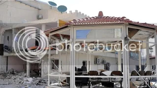 attack on Ikhbariya TV south of Damascus