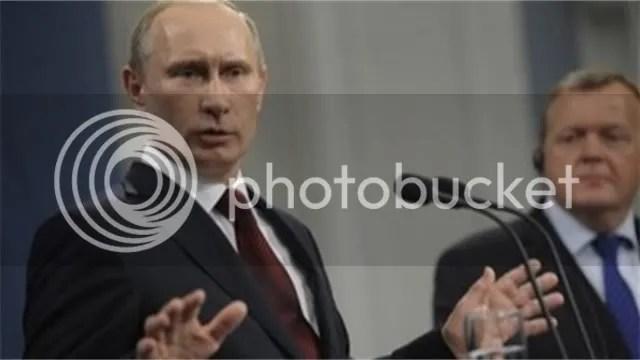 Putin in Denmark