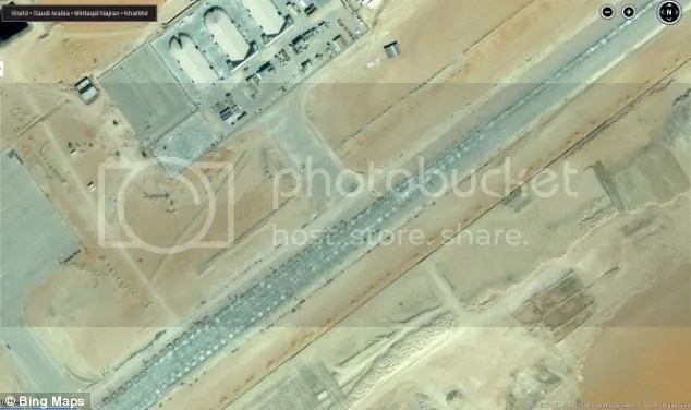 Looks like a new drone base in Saudi Arabia's south