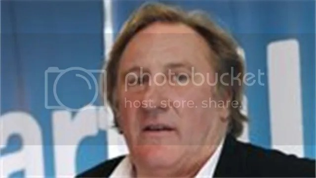 DSK to be played by Gerard Depardieu who will not his hair white