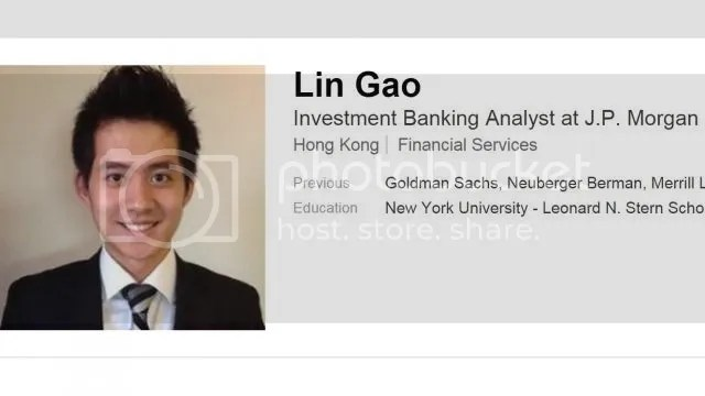 Gao Jue declined to comment through his current employer, Goldman Sachs Group Inc.