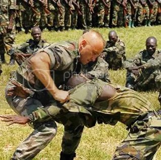 Ugandan Troops receive U.S. Special Forces training, 2011