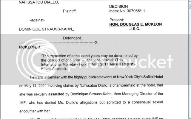 Judge McKeon denies motion to dismiss Diallo suit