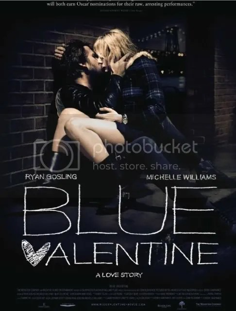 Blue Valentine goes to DVD