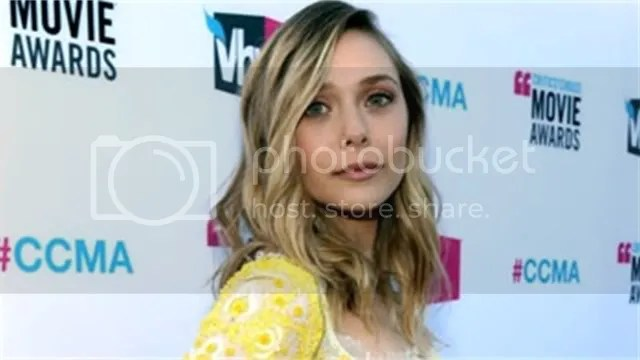 Elizabeth Olsen at Critics Circle MA