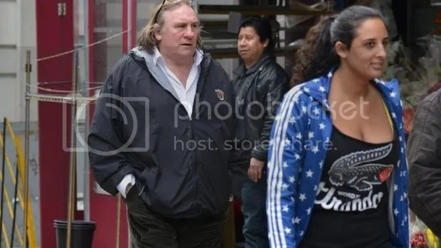 Gerard Depardieu and daughter Roxanne