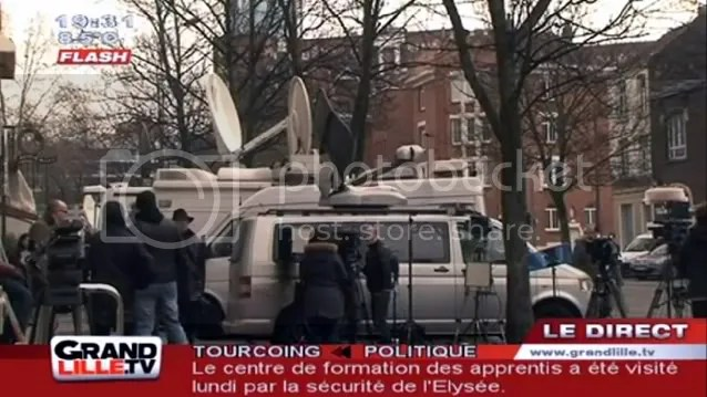 DSK at police barracks, Warrant Pruvost, located in downtown, boulevard Louis-XIV