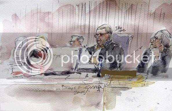 Chief judge Bernard Lemaire