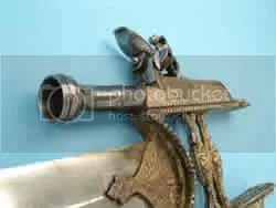 Gun Katar - Flintlock Pistol Barrel