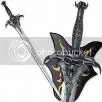 Afflicted Demon Sword
