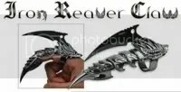 Iron Reaver Claw - Black