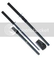 Musashi Black Ninja Sword
