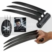 X-Men Wolverine Black Battle Claws