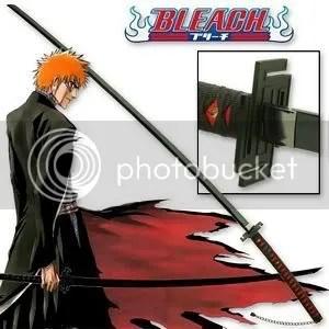 Ichigo Zangetsu Bankai sword