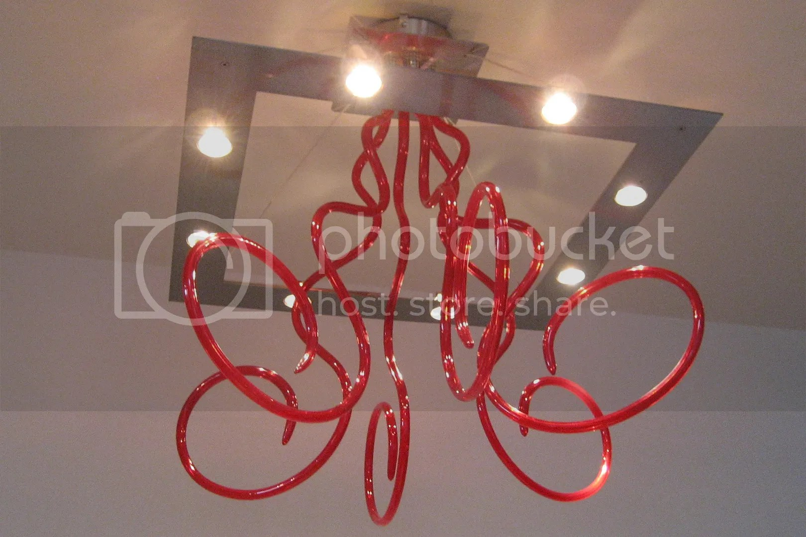 red wire lights
