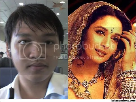Me... and Madhuri Dixit