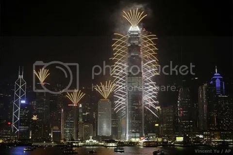 New Year Eve in Hong Kong