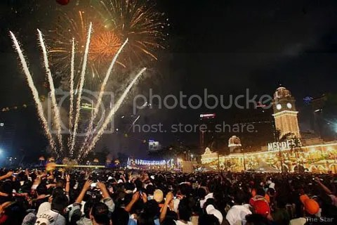 New Year Eve in Kuala Lumpur