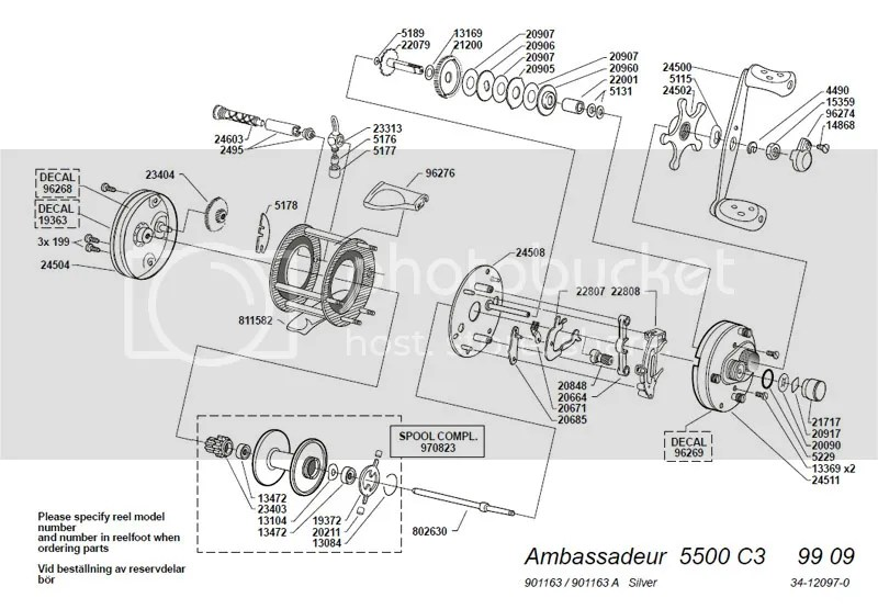 Reel Schematics Abu Garcia Bmax3 Wire Center