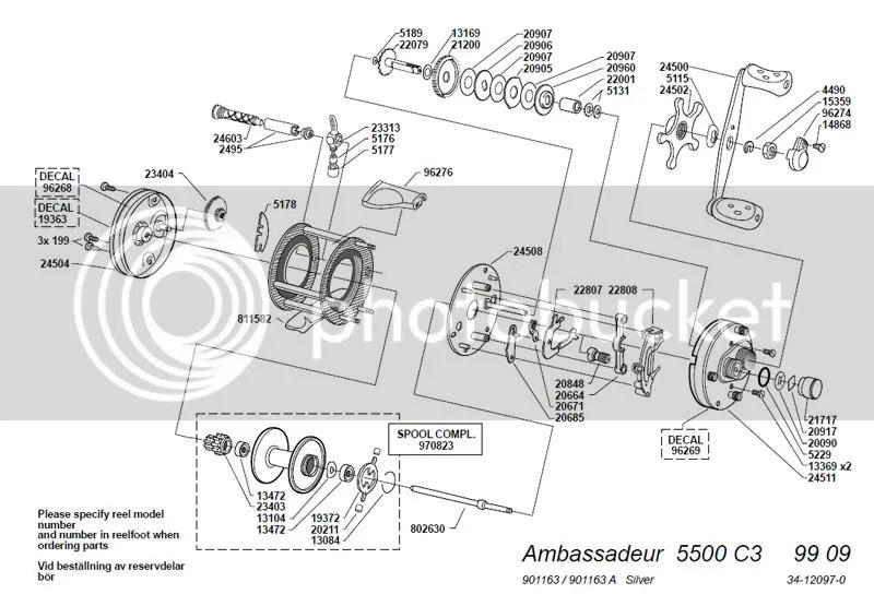 Abu Garcia Schematics Parts Wiring Circuit